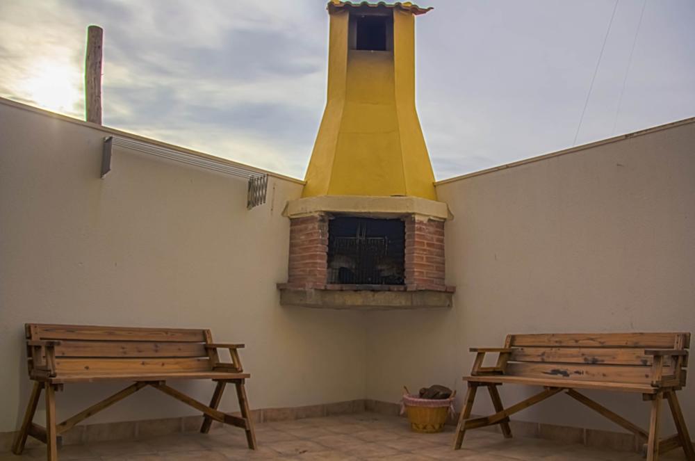 Casa rural la laguna - Patios con barbacoa ...